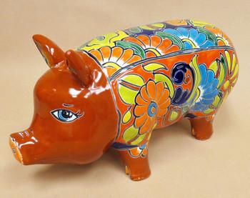 Southwestern Talavera Pig