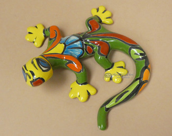 Hand Painted Talavera Lizard