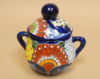 Hand Painted Mexican Pot