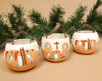 Navajo Hand Painted Ornaments