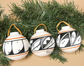 Hand Painted Navajo Ornaments