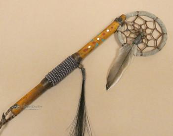 Native American Dreamcatcher Spirit Stick Purple
