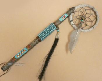 Native American Dreamcatcher Spirit Stick Turquoise