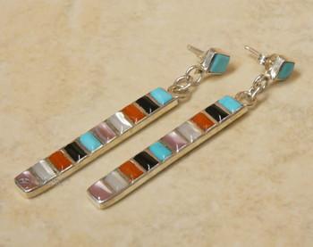 Native American Zuni Earrings