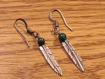 Native American Zuni Sterling Silver Earrings