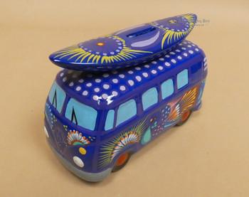 Hand Painted Van w/ Surfboard Bank