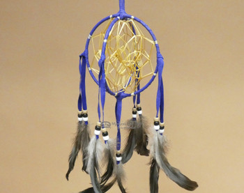 3D Native American Dreamcatcher - Purple