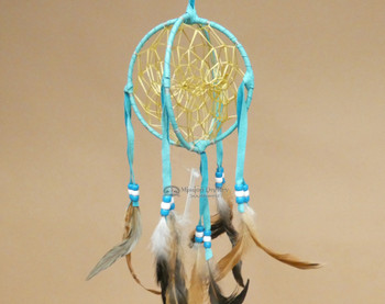 Hand Woven 3D Native American Dreamcatcher -Navajo