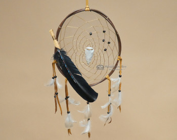 Twisted Wood Native American Dream Catcher 10""