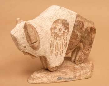 Navajo Alabaster Carving - Buffalo