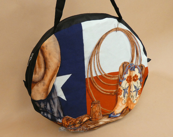 Western Digital Print Rope Bag  - Texas