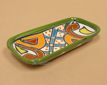 Hand Painted Mexican Talavera Tray