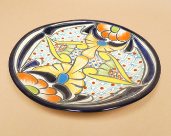 """Classic Hand Painted Talavera Plate 11"""""""