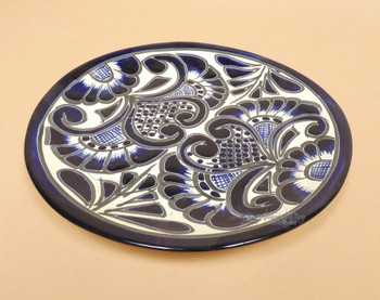 Hand Painted Talavera Pottery Plate