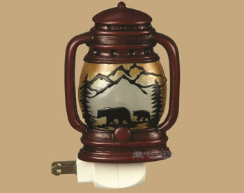 Rustic Lantern Nightlight