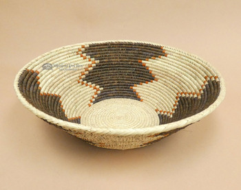 Large Hand Woven Palm Basket