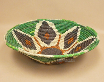 Large Handwoven Native Style Palm Basket