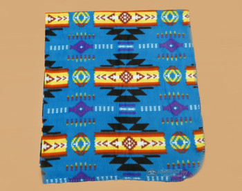 Lightweight Fleece Blanket - Blue