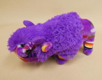Plush Southwestern Style Stuffed Buffalo