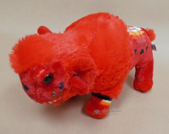 Plush Southwestern Style Stuffed Animal Buffalo