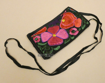 Embroidered Western Style Glasses Carrying Pouch