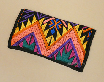 Classic Embroidered Glasses Carrying Pouch (ael6)