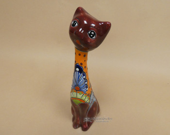 Hand Painted Talavera Cat