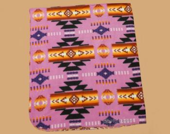 Lightweight Fleece Blanket - Pink