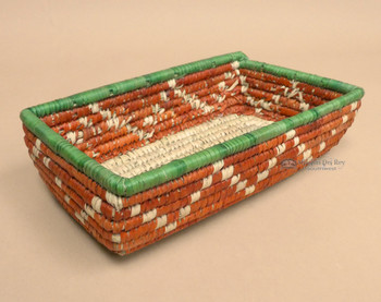 Southwestern Style Hand Woven Basket