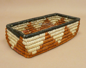 """Western Style Hand Woven Basket 9"""" (1bc14)"""