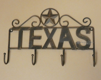 Texas Tin Art Key Hanger