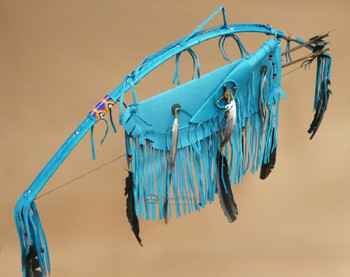 Native American Bow, Quiver & Knife Set - Turquoise