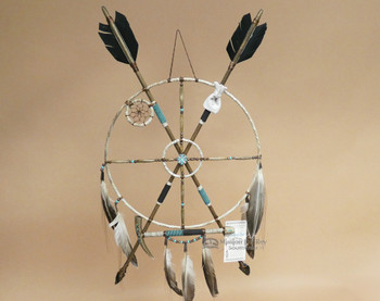 Navajo Indian Medicine Wheel Arrow Set