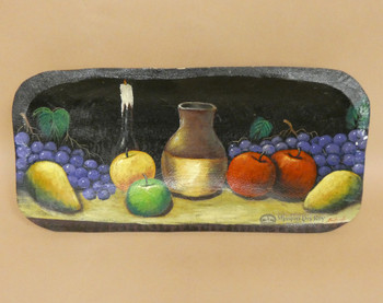 Hand Painted Bowl - Fruit Spread