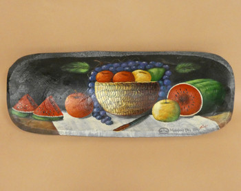 Hand Painted Bowl - Watermelon Fruit Bowl