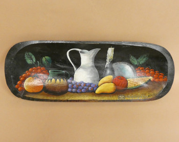 Hand Painted Bowl - Fruit Platter