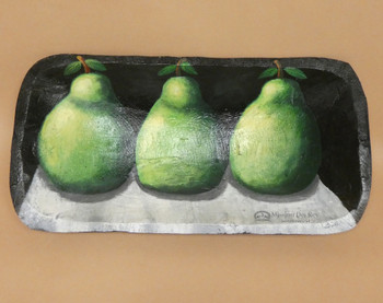 Hand Painted Bowl - Pears