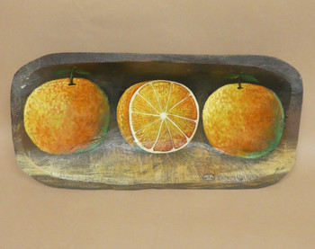 Hand Painted Bowl - Citrus