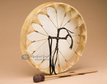 Cherokee Elk Drum Hand Laced