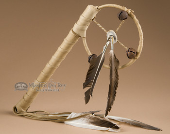 Navajo Indian Deerskin Medicine Stick