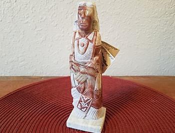 Navajo Alabaster Stone Carving -Elder