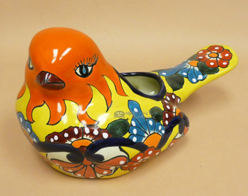 Mexican Talavera Bird Planter