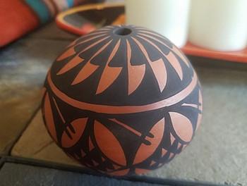 Native American Clay Pottery -Acoma