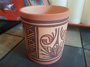 Zuni Hand Built Painted Pottery