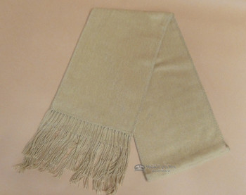 100% Alpaca Wool Scarf -Tan