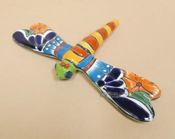 Hand Painted Talavera Dragonfly