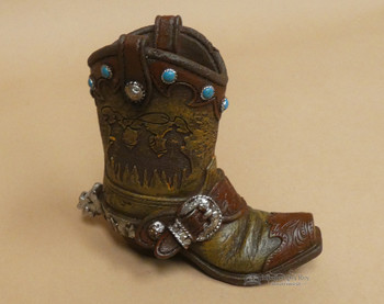 Western Cowboy Pencil Holder -Boot