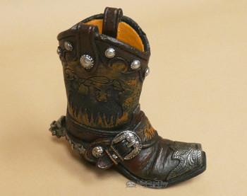 Western Cowboy Pencil Holder -Ropers