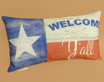 Western Welcome Ya'll Pillow 16""