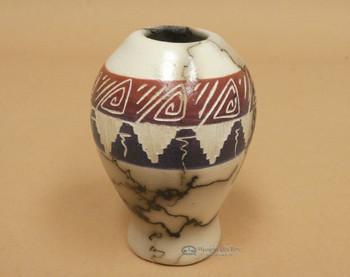 Hand Painted Navajo Seed Pot